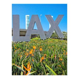 LAX Airport Sign Letterhead