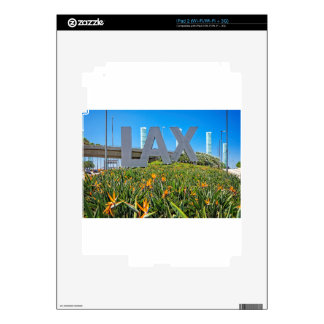 LAX Airport Sign Skin For The iPad 2