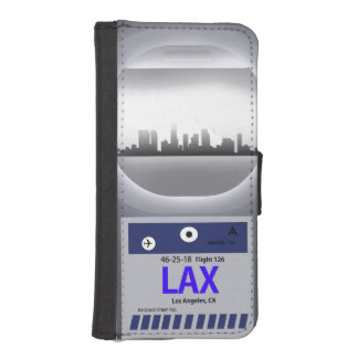 LAX CODE & SKYLINE iPhone SE/5/5s WALLET CASE