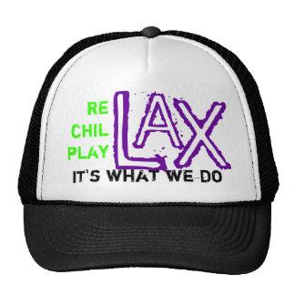 lax mesh hat
