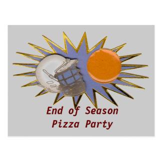 LAX Lacrosse Party Team Postcard