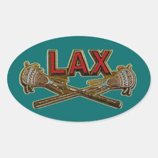 LAX LaCrosse personalizó el sello del pegatina