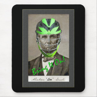 Lax Lincoln Mouse Pad