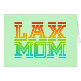 Lax Mom Card