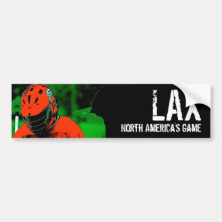 LAX North America's Game Bumper Sticker