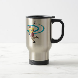 LAX Player 15 Oz Stainless Steel Travel Mug