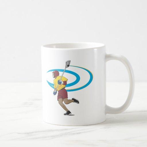 LAX Player Classic White Coffee Mug