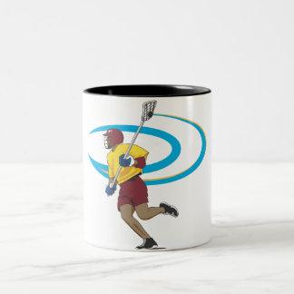 LAX Player Two-Tone Coffee Mug