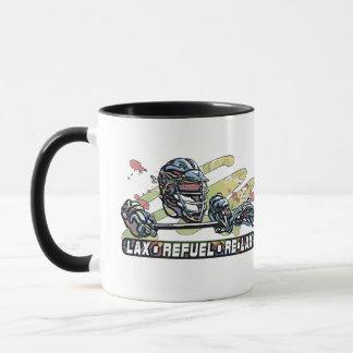 Lax Refuel Re-Lax Lacrosse Gear Mug