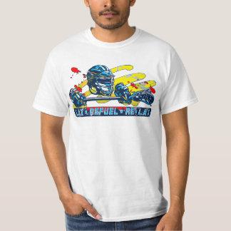 Lax Refuel Re-Lax Lacrosse Gear T-Shirt