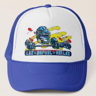 Lax Refuel Re-Lax Lacrosse Gear Trucker Hat