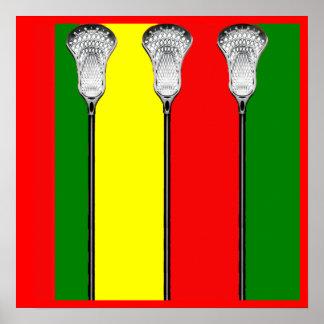 Lax Sticks Poster