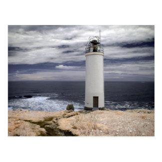 Laxe Lighthouse | Galicia, Spain Postcard