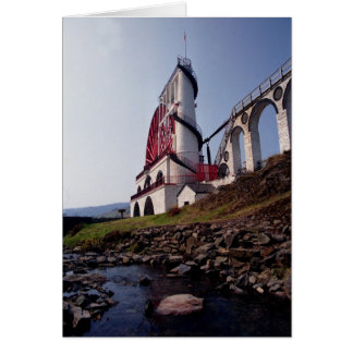 Laxey wheel from Laxey Glen Greeting Cards