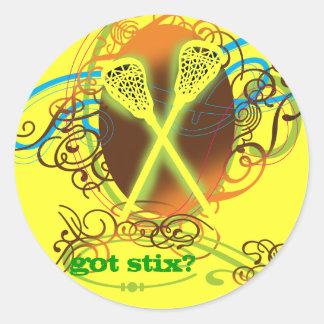 LaxGirl Sticker