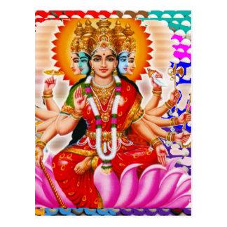 LAXMI - Goddess of Wealth Post Card