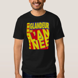 Layabout of the year black t-shirt