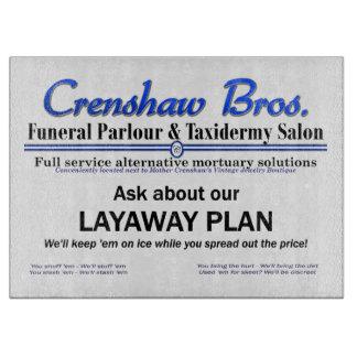 Layaway Plan Cutting Boards