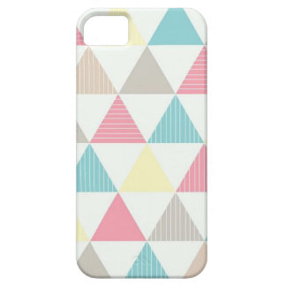 Layer for cellular with colored geometric figure iPhone SE/5/5s case