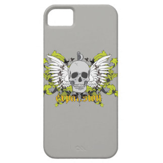 Layer for cellular with subject of a skull iPhone SE/5/5s case
