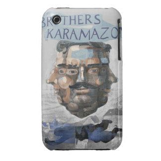 """Layer For Iphone 3G """"Karamazov Brothers """" iPhone 3 Cover"""