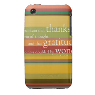 Layer gratitude iPhone 3 cover
