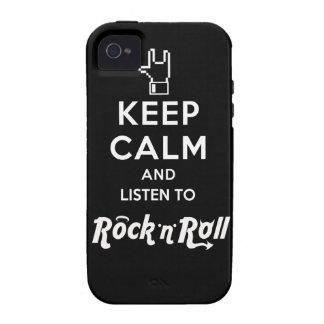 "Layer iPhone4 Bold Keep Calm… Rock ""n"" Roll"