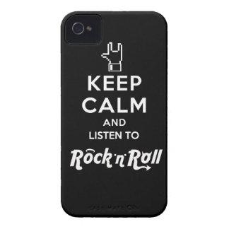 "Layer iPhone4 light Keep Calm… Rock ""n"" Roll"