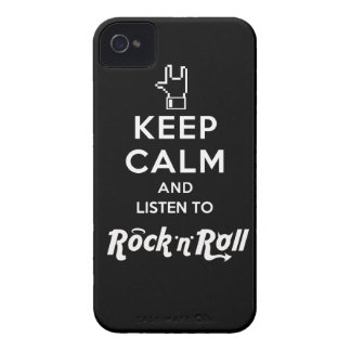 "Layer iPhone4 light Keep Calm… Rock ""n"" Roll iPhone 4 Case"