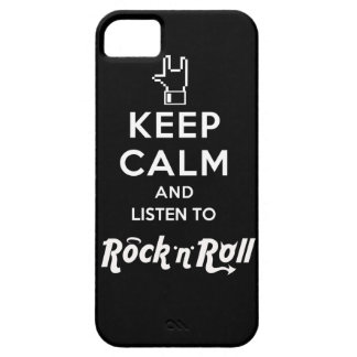 """Layer iPhone4 light Keep Calm… Rock """"n"""" Roll iPhone SE/5/5s Case"""