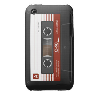 Layer iPhone 3G 3GS Cassette Tape Backward iPhone 3 Case-Mate Cases