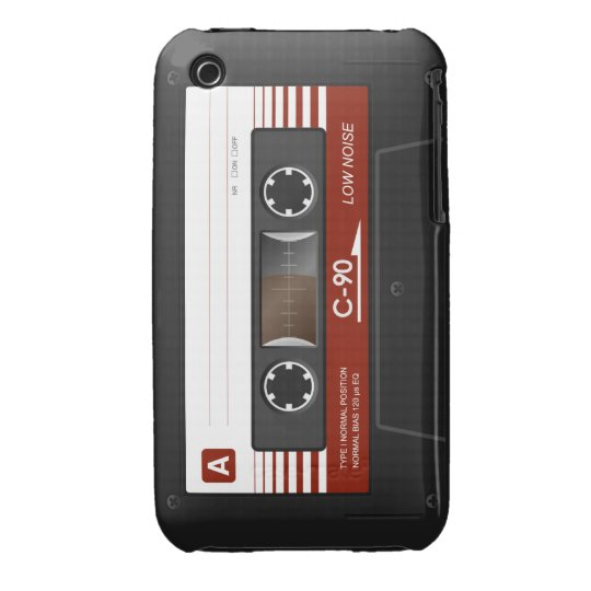 Layer iPhone 3G/3GS Cassette Tape Backward iPhone 3 Case