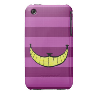 Layer iPhone 3G 3GS light Cheshire Cat Smile Case-Mate iPhone 3 Cases