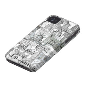 Layer iPhone 4 Mural Arch Search Case-Mate iPhone 4 Case