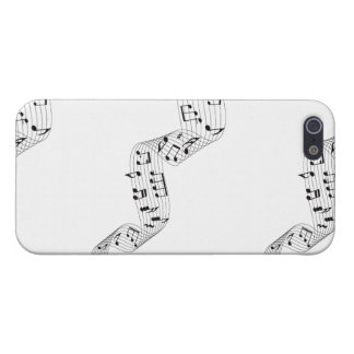 Layer iphone 5, musical Guideline iPhone SE/5/5s Cover