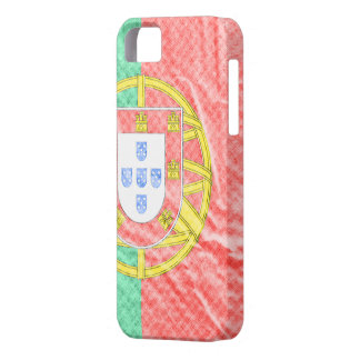 Layer iPhone 5 with the flag of Portugal iPhone SE/5/5s Case