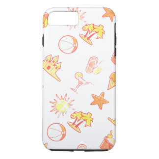 Layer Iphone 8 amused beach iPhone 8 Plus/7 Plus Case