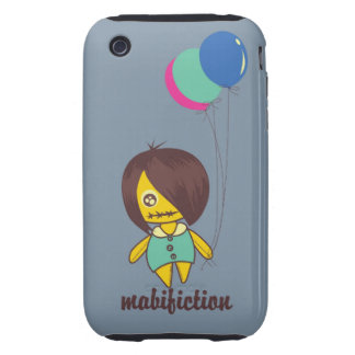 layer iphone doll iPhone 3 tough cases
