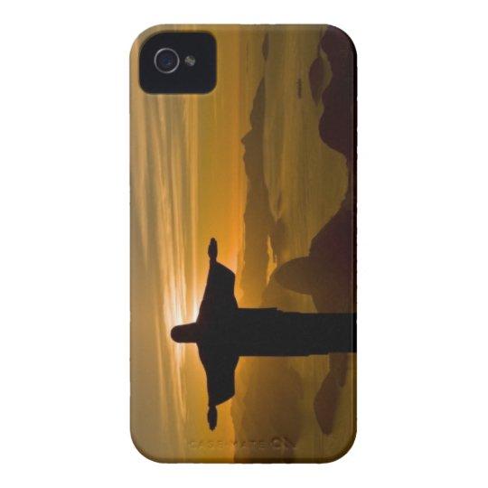 Layer Iphone Rio De Janeiro Redeeming Christ iPhone 4 Case-Mate Case