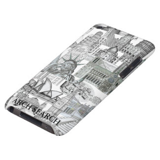 Layer iPod Mural Touch Arch Search iPod Touch Case-Mate Case