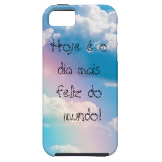Layer of cellular Iphone5 5s Sky with rainbow iPhone SE/5/5s Case
