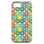 Layer oPhone4 Bold - Multicoloridos Circles Capa De iPhone 5 Case-Mate