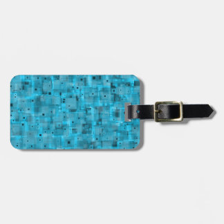 Layered Blue Tags For Bags