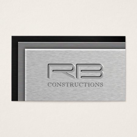 Building And Construction Business Cards BUSINESS CARDS GALORE - Construction business card template