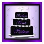 Layered Cake Birthday Party Invite