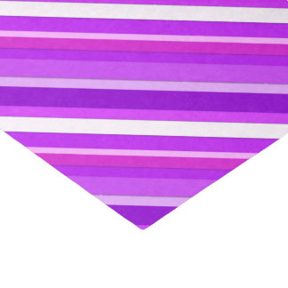 Layered candy stripes - purple and orchid tissue paper