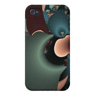 Layered Chaos iPhone 4 Case