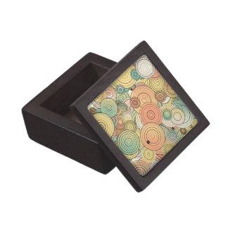 Layered circles gift box