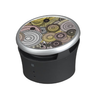Layered circles speaker