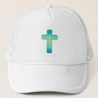 Layered Cross 1 Trucker Hat